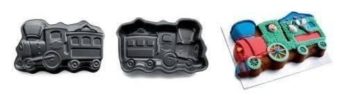 Forma na pečení lokomotiva 38x23cm - Ibili