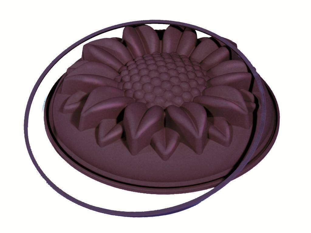 Silikonová forma na pečení slunečnice 26cm - Ibili