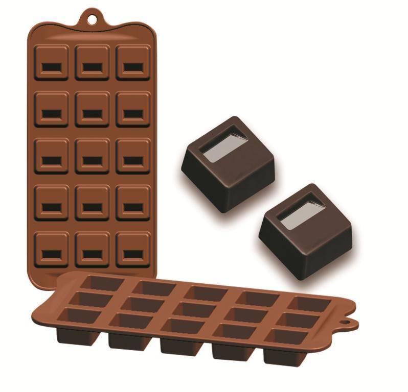 Formičky na čokoládu zámek 10,5x21cm - Ibili