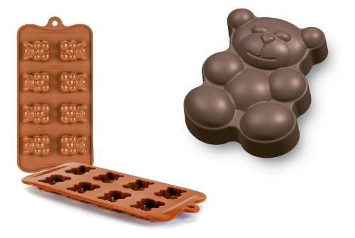 Forma na čokoládu mini Medvídek - Ibili
