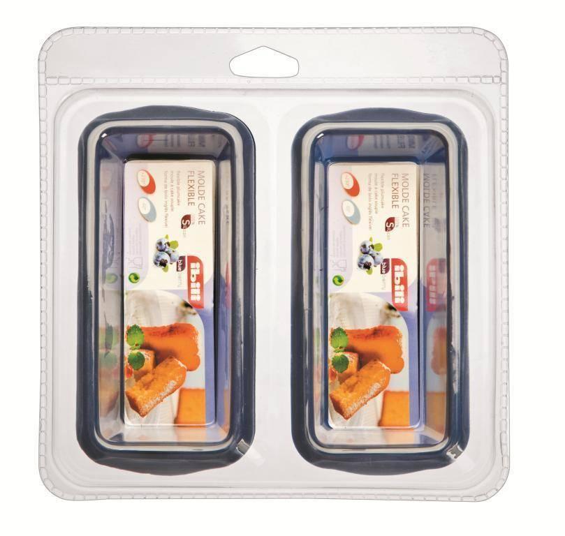 Silikonové formy na pečení set – 2ks - Ibili