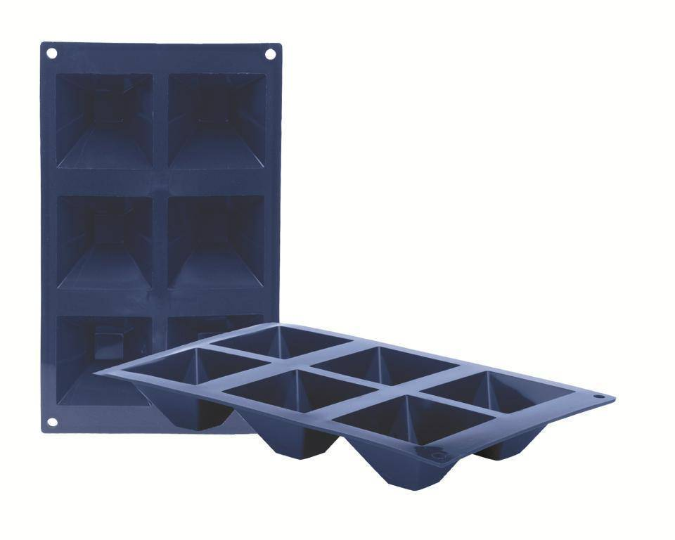 Silikonová forma na pečení pyramida - Ibili