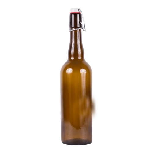 Láhev na pivo s uzávěrem 0,75l - BIOWIN
