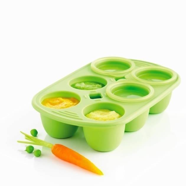 Silikonová miska Mastrad 6 porcí oranžová 150ml - Mastrad