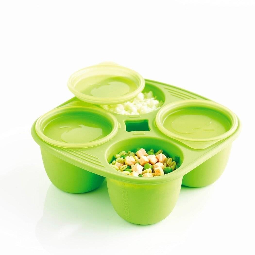 Silikonová miska Mastrad 4 porce zelená 280ml - Mastrad