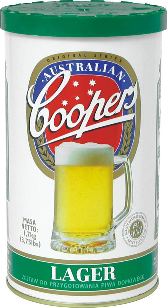 Směs na výrobu domácího piva LAGER - 23l - BIOWIN