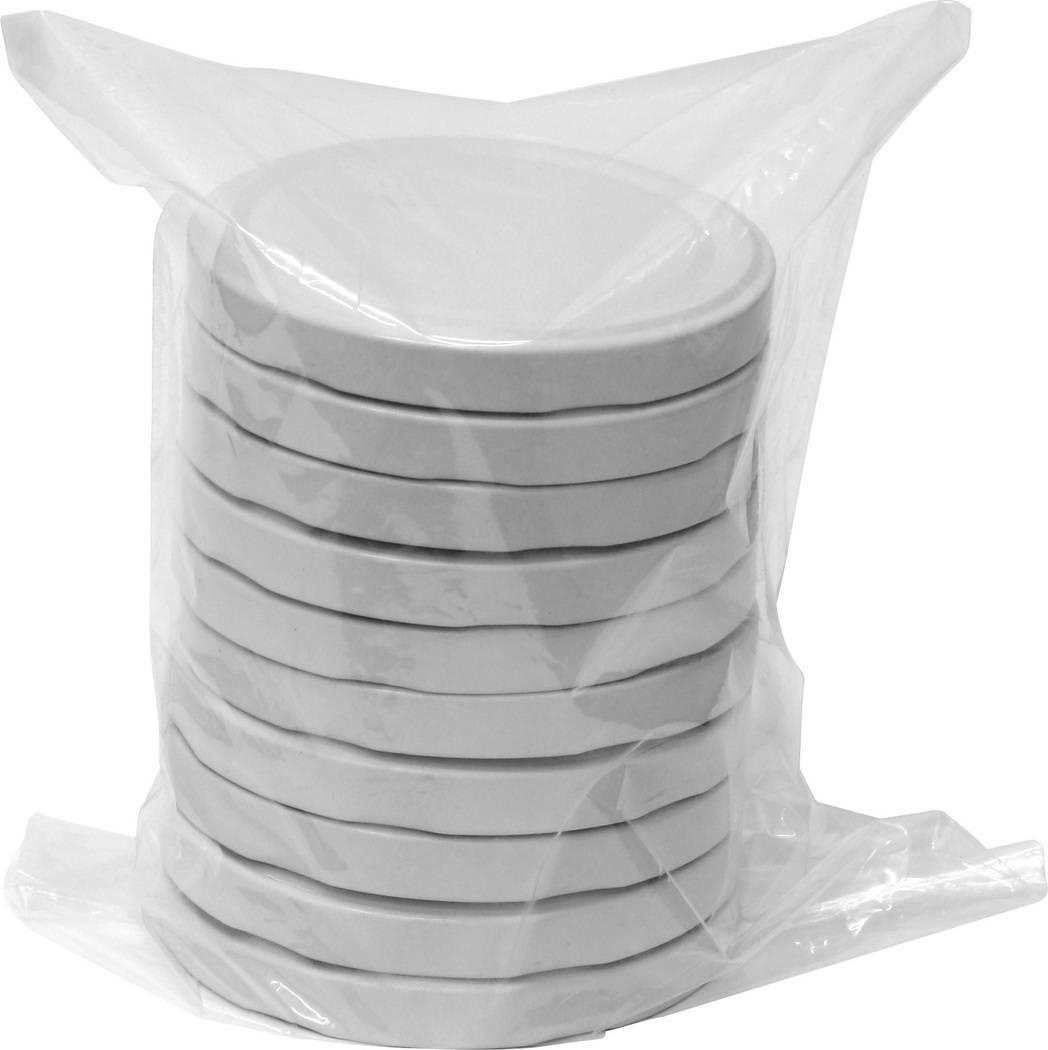 Víčka 100 - 10ks bílé - BIOWIN
