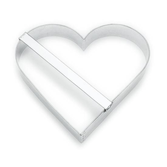 Vykrajovátko srdce 11cm - Smolík
