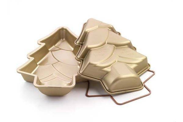 Silikonová forma na dort – vánoční strom - Silikomart