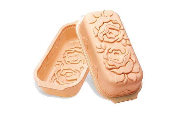 Silikonová forma na chleba – růže - Silikomart