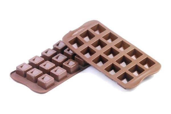 Silikonová forma na čokoládu CUBO - Silikomart