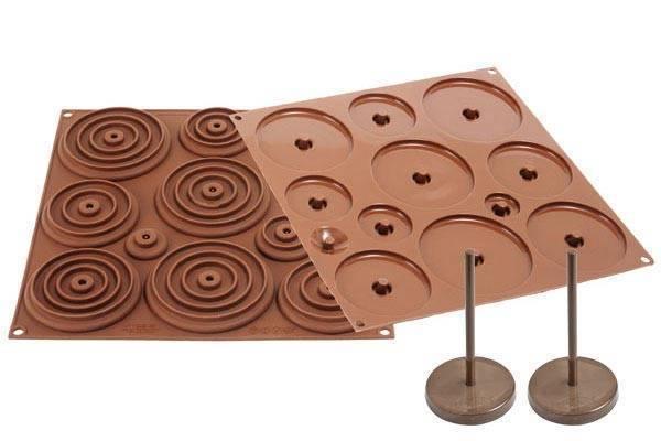 Silikonová forma na čokoládu – 3D kraslice - Silikomart