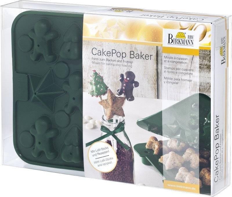 Silikonová forma CAKE POPS – Vánoce - Birkmann