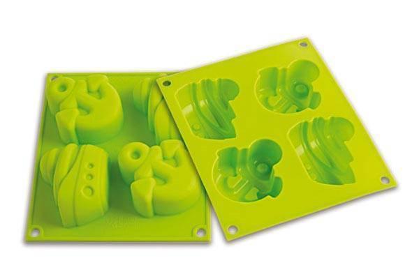 Silikonová forma na dortíky – lodička - Silikomart