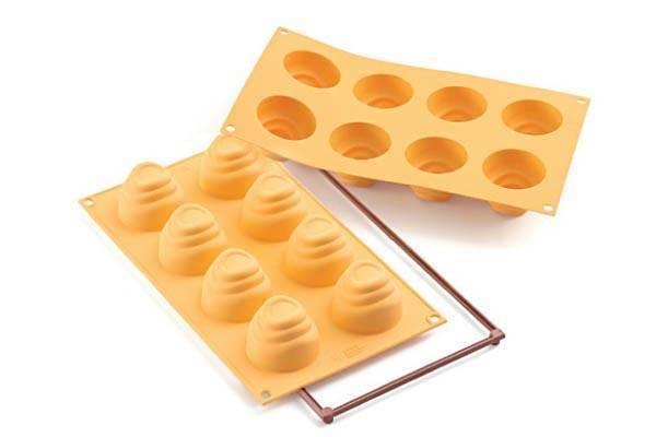 Silikonová forma – hypnotické dortíky - Silikomart