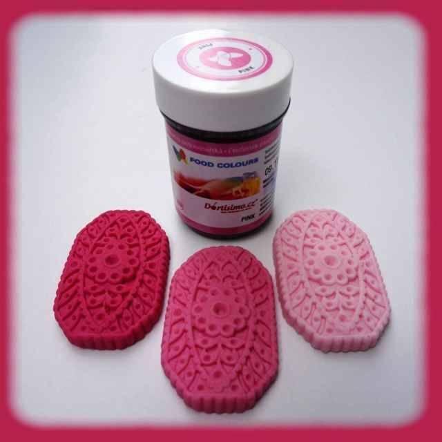 Gelová barva (Pink) růžová 35 g - Food Colours
