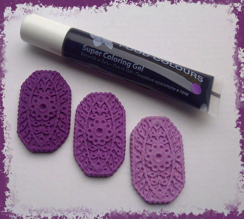Gelová barva tuba (Violet) fialová 20 g - Food Colours