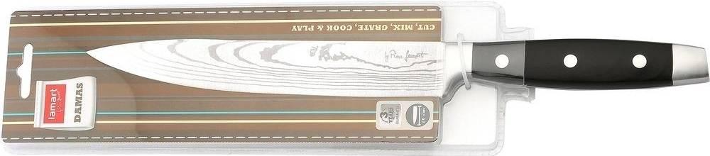 LT2044 Nůž plátkovací 20cm DAMAS - Lamart