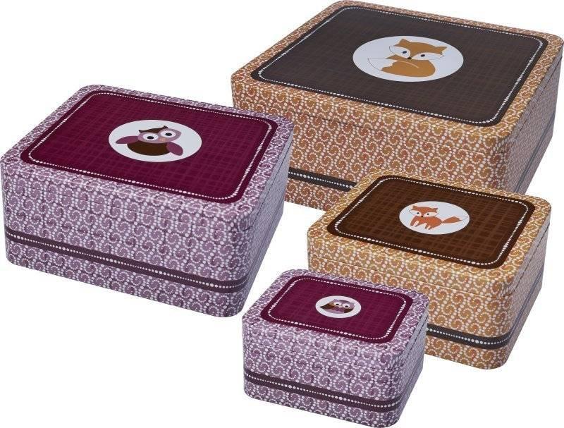 Dózy na sušenky – lesní zvířátka - Birkmann