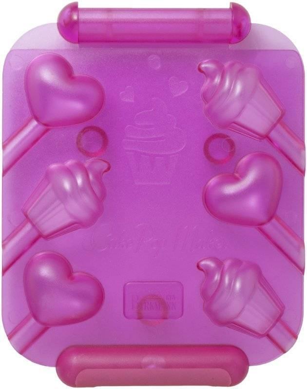 Forma na pečená lízátka – srdce a cupcake - Birkmann