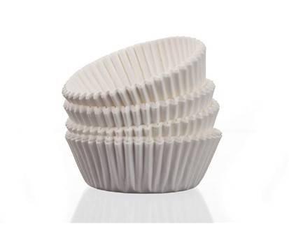 Cukrářské košíčky 100ks, bílé - BANQUET