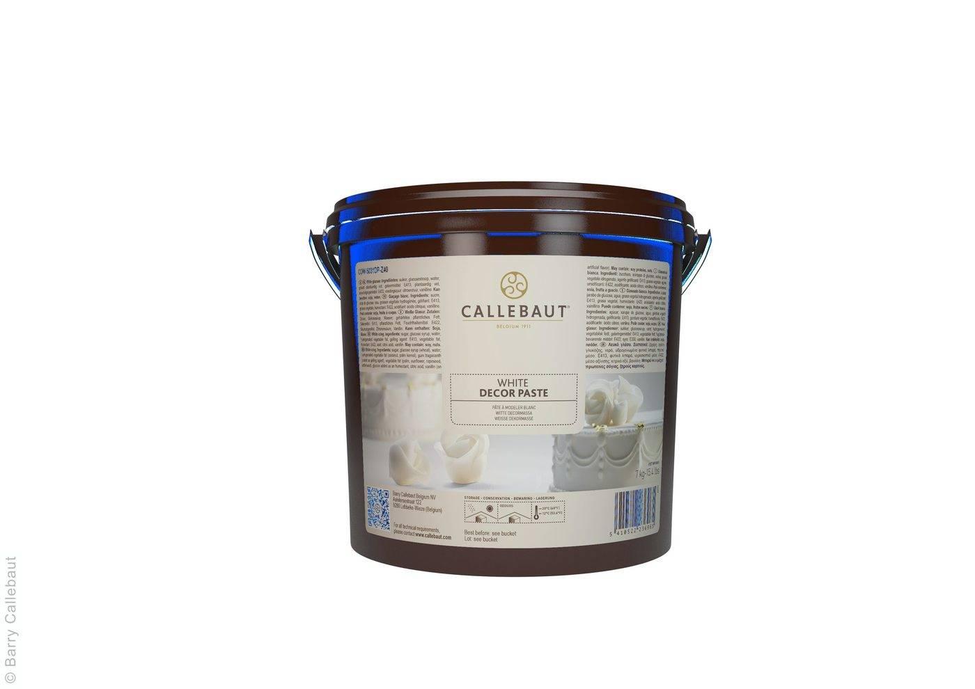 Potahovací hmota 7Kg - White Icing - Callebaut