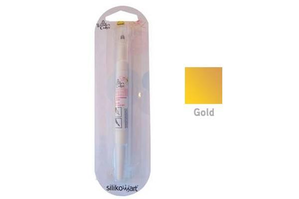 Barva ve štětci WONDER BRUSH – zlatá - Silikomart