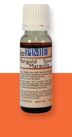 PME airbrush barva základní – oranžový měsíc - PME