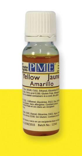 PME airbrush barva základní – žlutá - PME