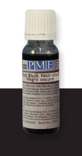PME airbrush barva základní – černá - PME