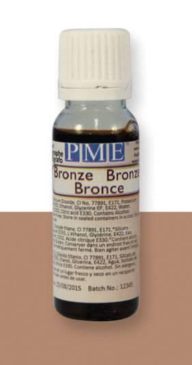 PME airbrush barva lesklá – bronzová - PME