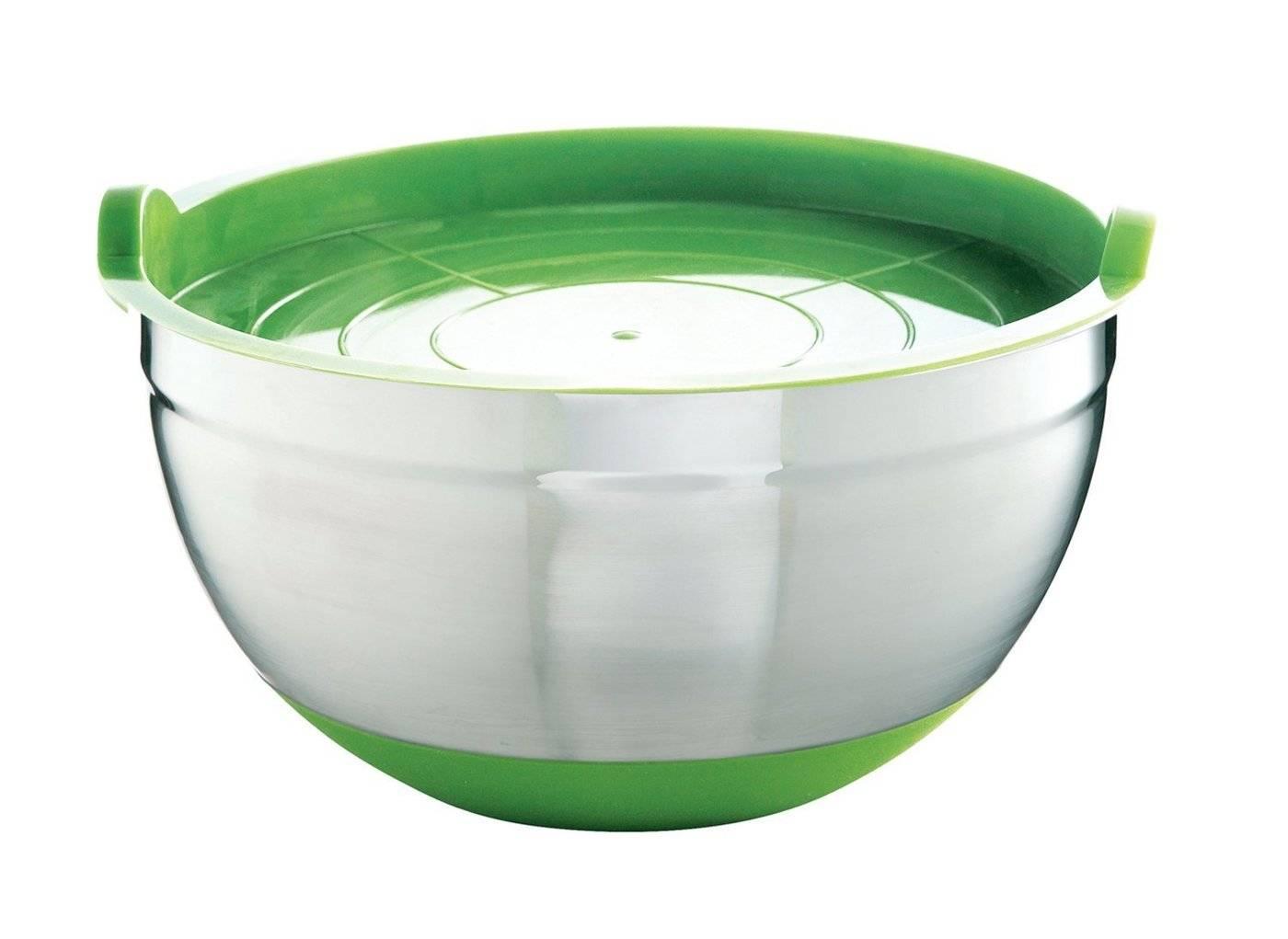 Nerezová miska na zeleninu 2,6l zelená - Mastrad