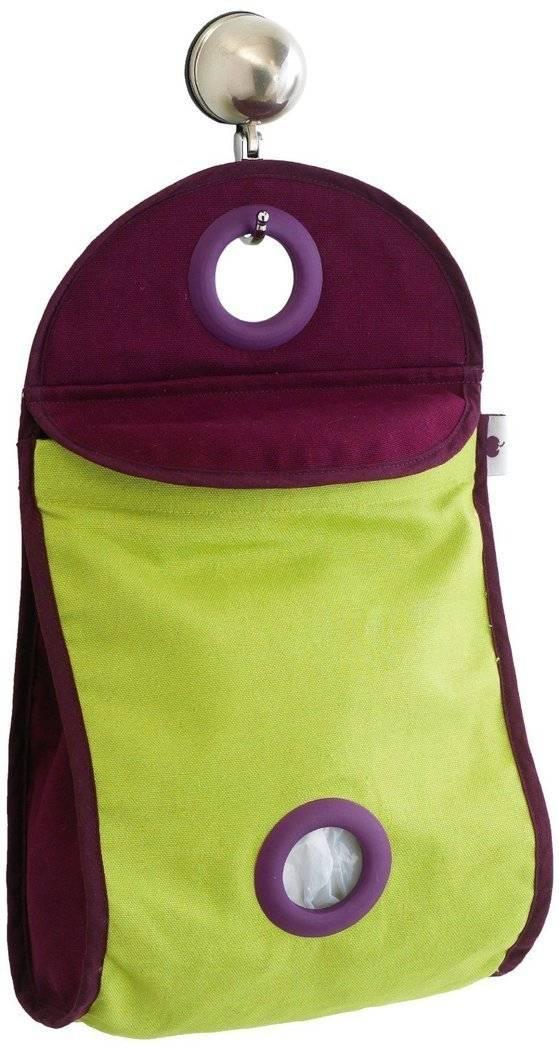 Taška na igelitové sáčky Mastrad zelená - Mastrad