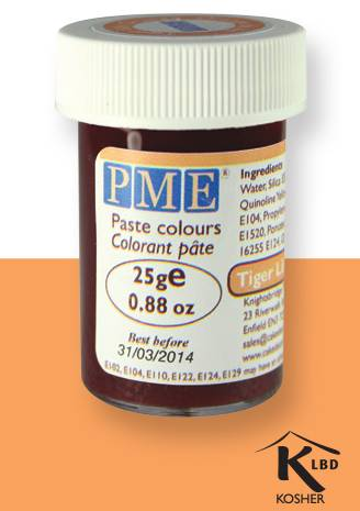 PME gelová barva - oranžová - PME