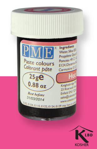 PME gelová barva - sytě růžová - PME
