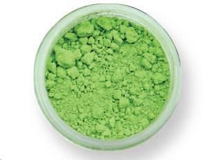 Prachová barva matná – jarní zelená 2g - PME
