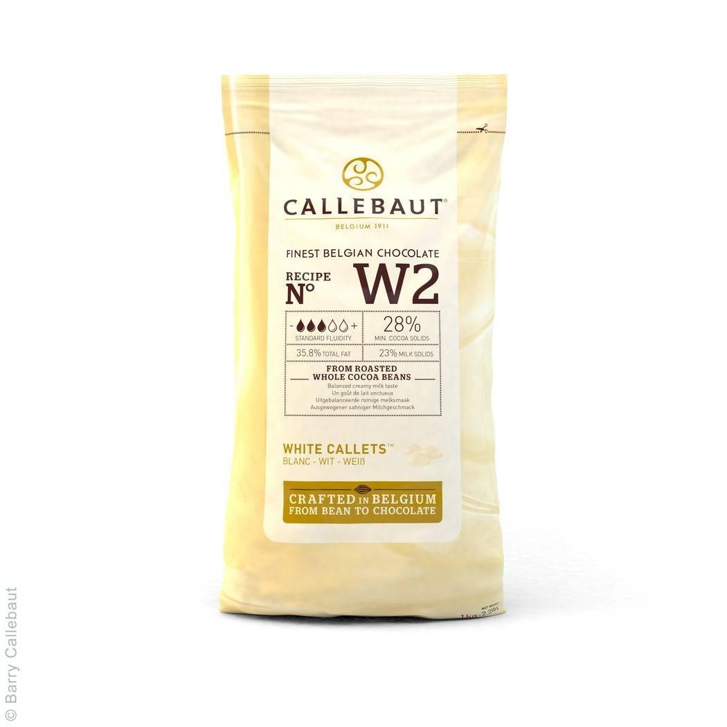 Čokoláda 1 Kg - bílá - Callebaut