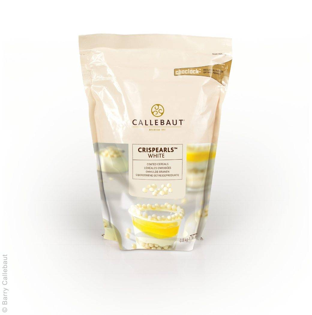 Křupinky v čokoládě 0,8Kg - bílé - Callebaut