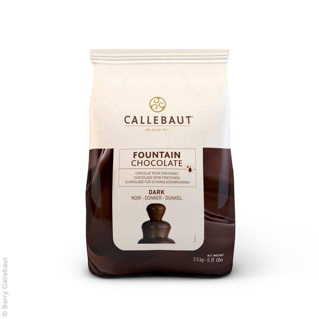 Hořká čokoláda do fontány 56,9% 2,5Kg - Callebaut