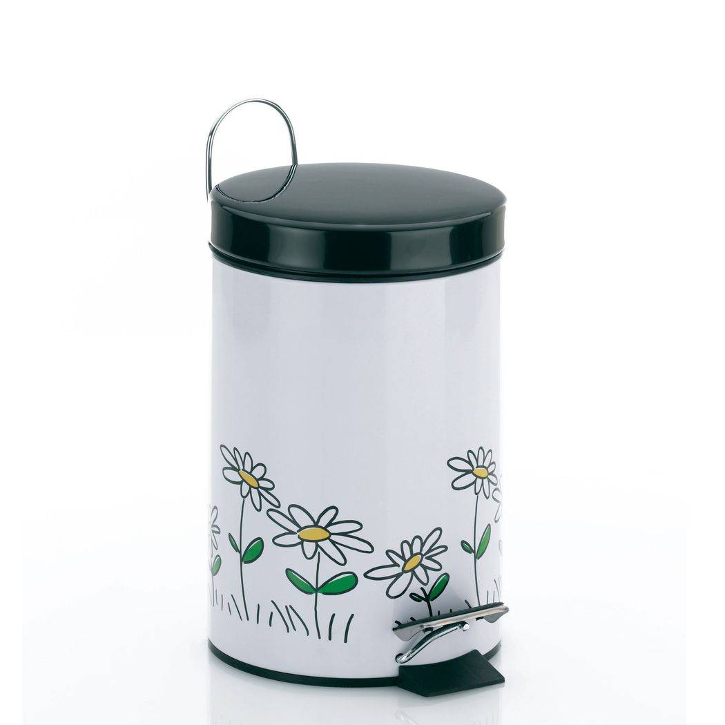 Odpadkový koš Daisy - kytičky 3l - Kela