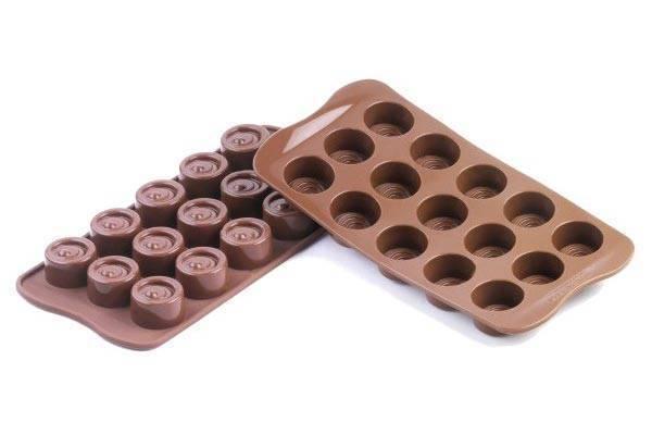 Silikonová forma na čokoládu VERTIGO - Silikomart