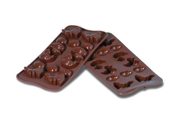 Silikonová forma na čokoládu – Velikonoce - Silikomart