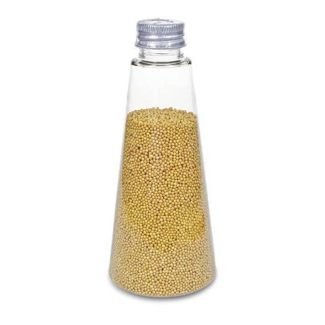 Ozdobné perličky zlaté s leskem - Stadter