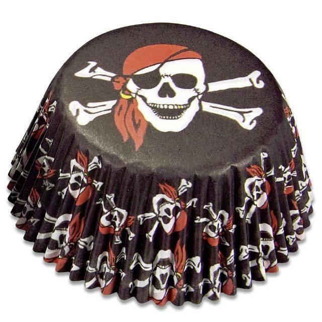 Papírové pečicí formičky piráti - Stadter