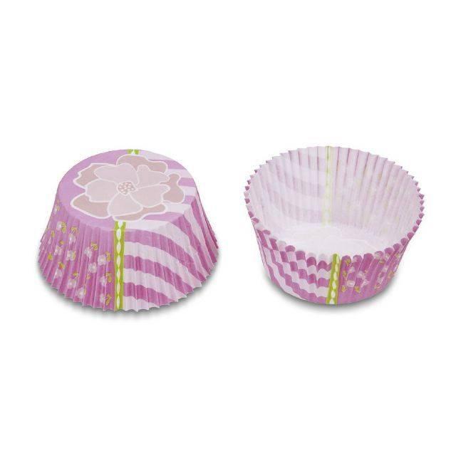Papírové pečicí formičky - růžové - Stadter