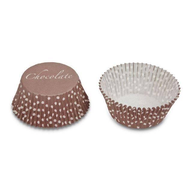 Papírové pečicí formičky - čokoláda - Stadter