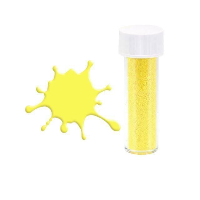 Prachová barva matná žlutá 7ml - Stadter