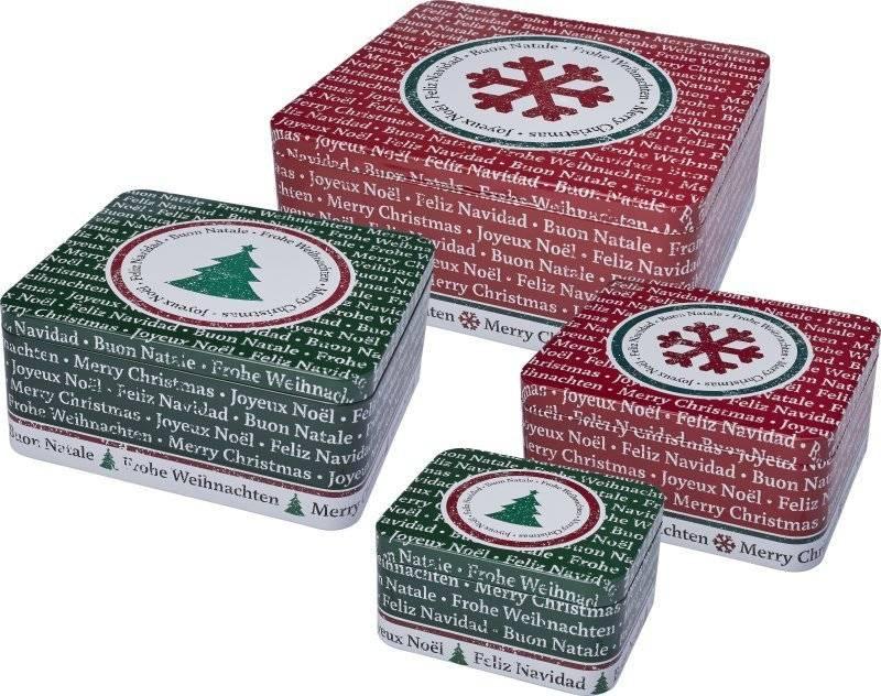 Dózy na sušenky – veselé Vánoce - Birkmann