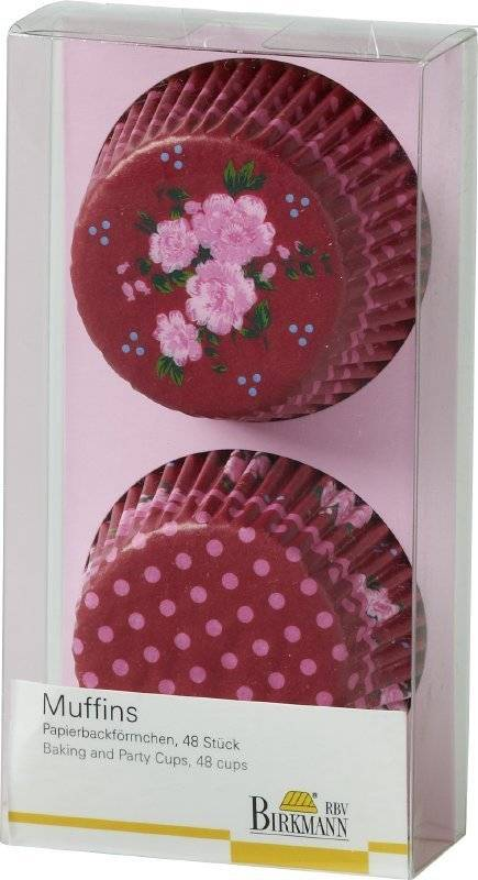 Košíčky na muffiny LA VIE EN ROSE - Birkmann