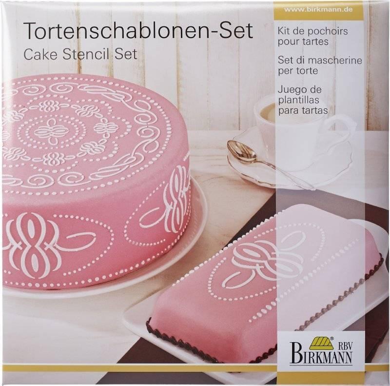 Stencil na dort CAKE COUTURE - Birkmann